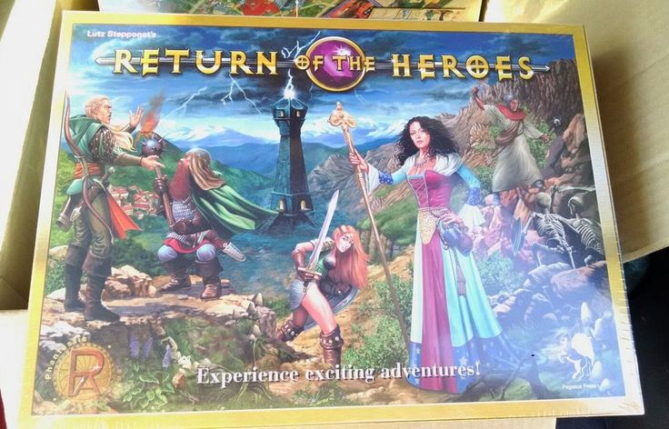 Return of the Heroes Game MIB Shrink Wrapped | Toys & Hobbies, Games, Board & Traditional Games | eBay!
