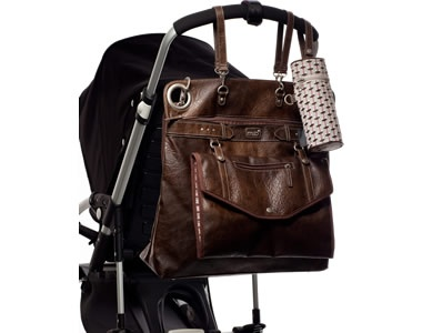 The most stylish EVER diaper bag! big love