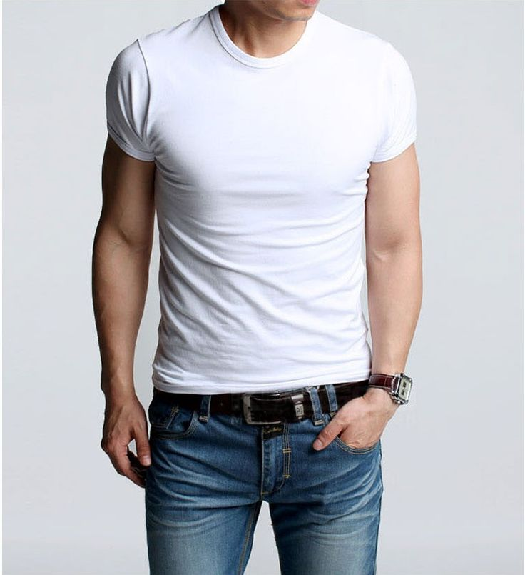58 best White T-shirt for Men images on Pinterest | Beautiful men ...