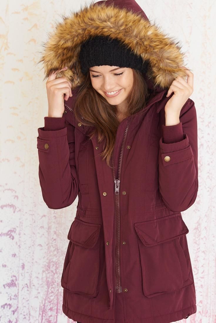 The Snowproof Parka. #outerwear