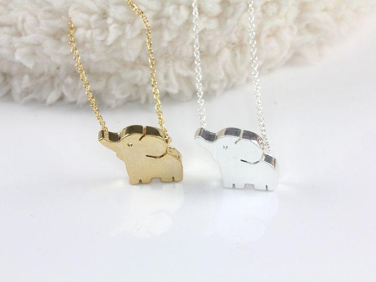 Hello Miss Apple: Baby Elephant Necklace