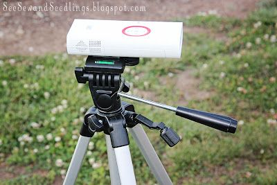 Backyard Movie Fun , I ran across a new product... The 3M Pocket Projector at Target and had to have it. Let me just say this projector is awesome! It hooks up to the iPhone or iPad (we used the iPad) and projects the movies. read more..
