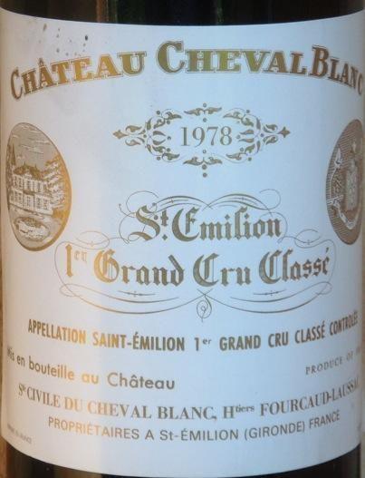 1978 Château Cheval Blanc
