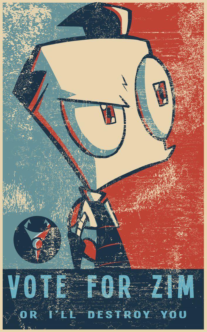VOTE FOR ZIM! by VengefulSpirits