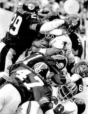 12x18 Steel Curtain U002775 Pittsburgh Steelers Art LE 50 By AmericanAllStar On  Etsy Https: