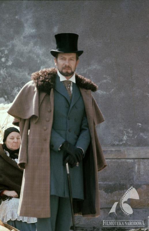 """Jerzy Kamas, polish actor in """"Lalka"""""""