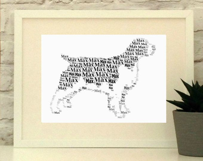 Springer Spaniel Personalised Print, Gift for Dog Lover, Dog Art Work, Pet Portrait, Springer Spaniel Art, Gun dog, Working Dog