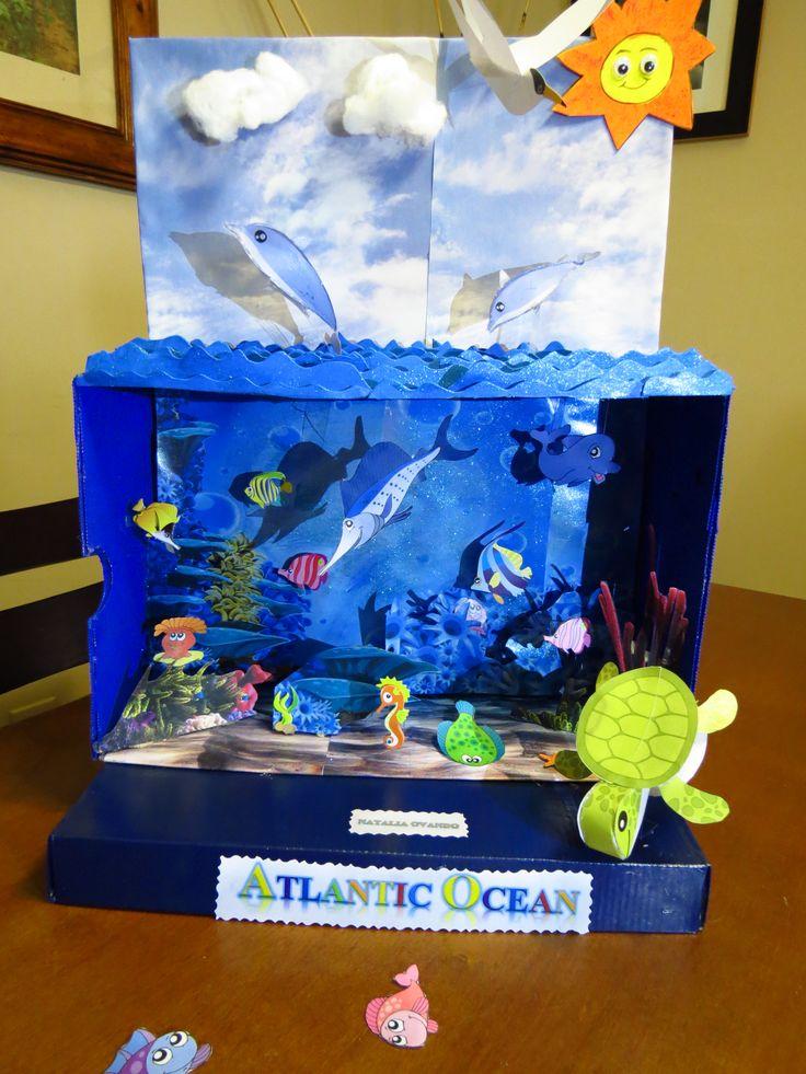 Kids Diorama With Details: The 25+ Best Ocean Diorama Ideas On Pinterest