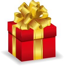 christmas present clip art | Various Christmas clipart for you, including Christmas tree, Santa ...