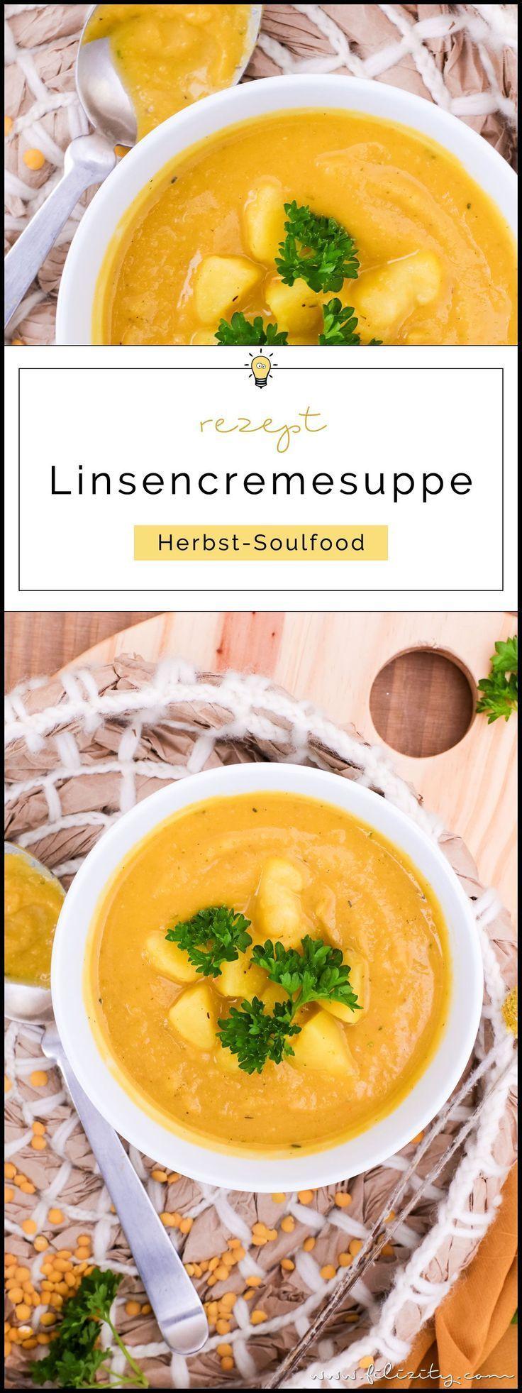 Linsensuppe mit Kurkuma – Echtes Herbst-Soulfood (vegan)
