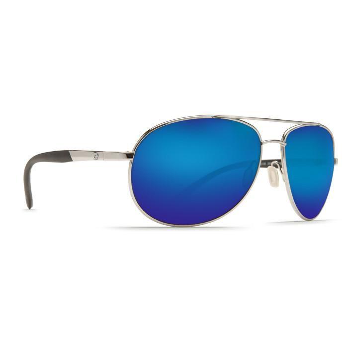 Costa Wingman Palladium Blue Mirror 580P Lens Sunglasses WM21OBMP