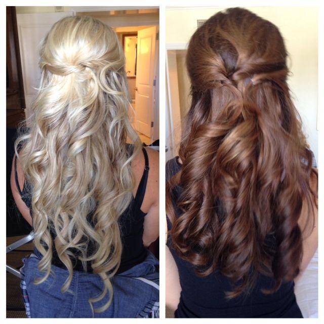 Bridesmaid, Bridesmaid Hair, Bridal hair, wedding hair, wedding, flawless faces, hair by Michelle @ www.flawlessfacesinc.com