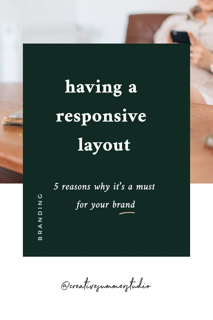 Are you a blogger or a creative entrepreneur who wants to improve his/her reader's engagement? Then it's a must to have a responsive website and to offer them a wonderful, mobile-friendly experience. This article shares 5 big reasons why you must have a responsive layout for your blog. Click to read the entire article.