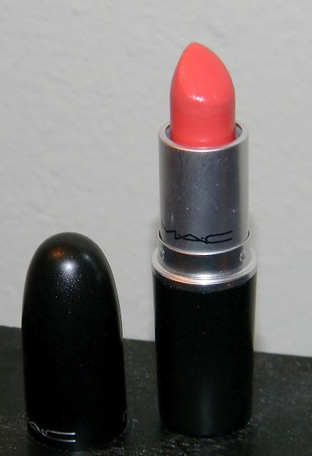Vegas Volt MAC lipstick - perfect summer coral color.