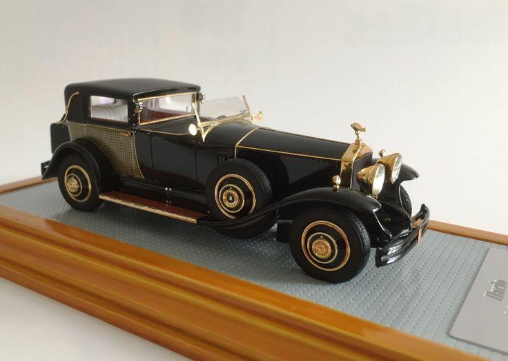 Ilario IL43089 Rolls Royce Phantom I Riviera Town Brougham Brewster 1929 snS390LR www.ilario.com