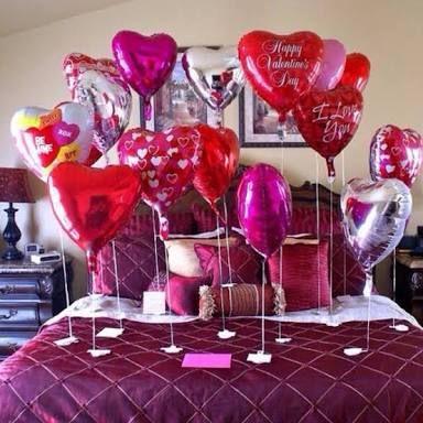 Resultado de imagen para regalos para mi novio en su cumpleaños globos