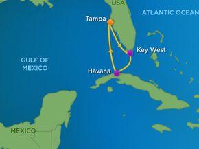 Royal Caribbean 5 Nt Key West Havana Out Of Tampa Royal Caribbean International Royal Carribean Cruise Royal Caribbean