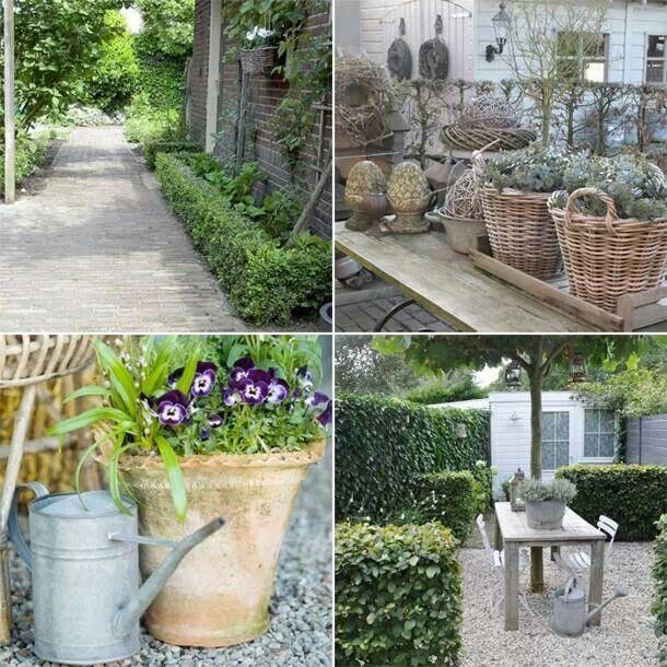 Mooie landelijke tuin.