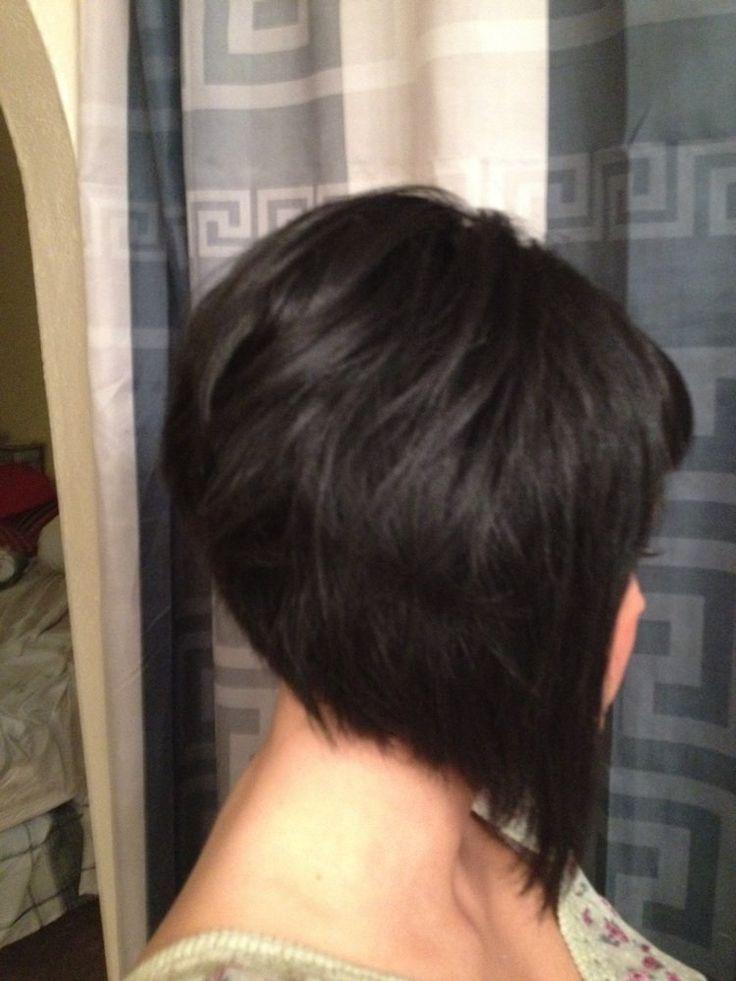 haircut on Pinterest   Inverted Bob, Bob Hairstyles and Layered Angled ...