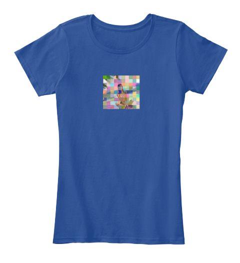 Inklicious Deep Royal  T-Shirt Front