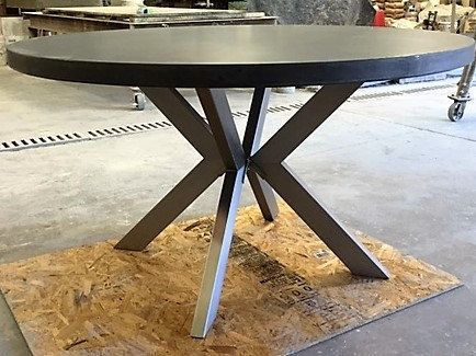 Concrete Dining Table By 910castings On Etsy