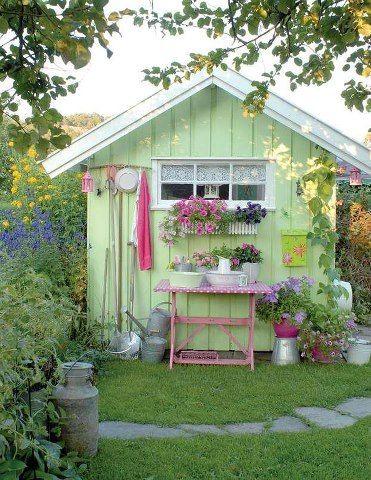 I love garden sheds