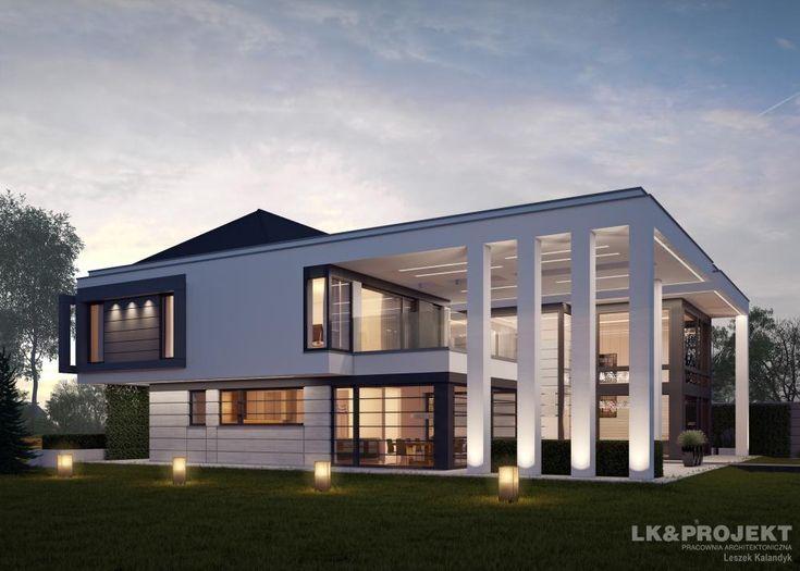 Projekty domów LK&Projekt LK&1274 wizualizacja 6