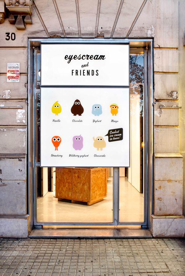 """Che il gelato riesca a renderci felici non è certo una novità. Solo a Barcellona però, hanno inventato """"Eyescream & friends"""" dove tutto questo è studiato in ogni minimo dettaglio."""