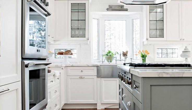 Palmer Circle | Elizabeth Metcalfe Interiors, Interior Designers | Toronto, ON…full overlay cabinets