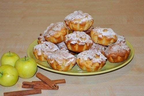 БЛОГ ПОЛЕЗНЫХ СОВЕТОВ: Сочные яблочные кексы