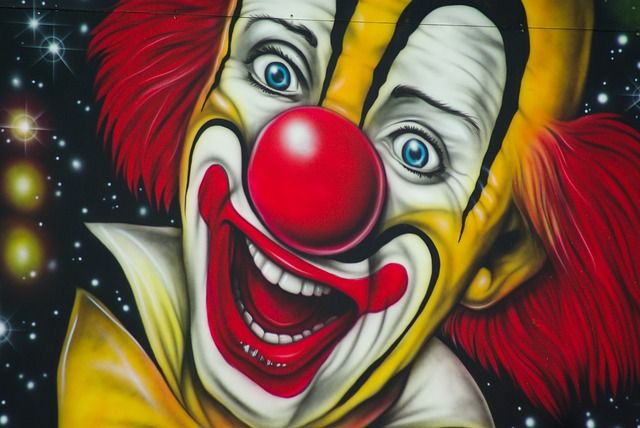 Free Image on Pixabay - Circus, Clown, Artist, Painting