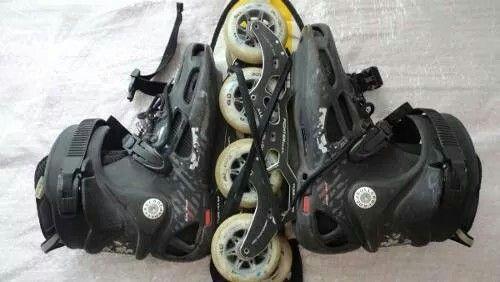 Mochila patines
