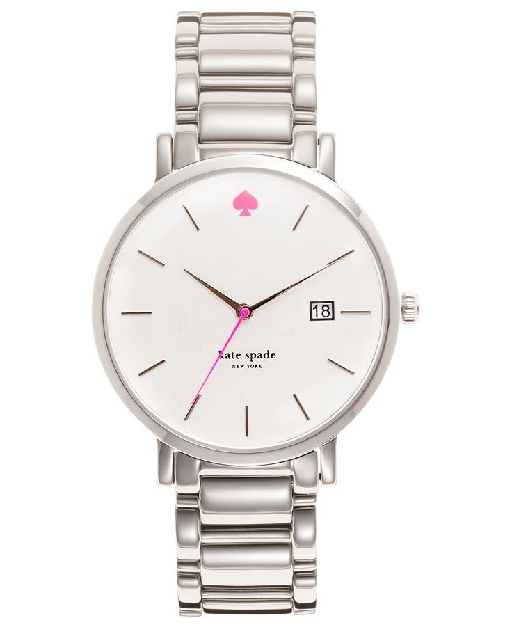 kate spade new york Watch, Women's Gramercy Stainless Steel Bracelet 38mm 1YRU0008 - Watches - Jewelry & Watches - Macy's