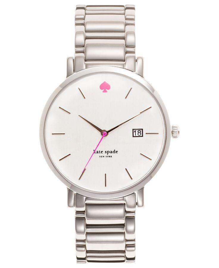 kate spade new york Watch, Women's Gramercy Stainless Steel Bracelet 38mm 1YRU0008 - Watches - Jewelry & Watches - Macy's