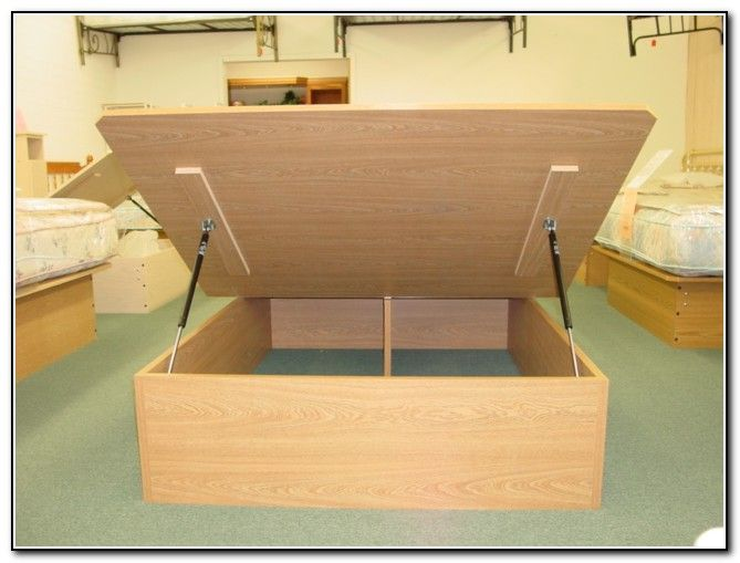 1000 Ideas About Lift Storage Bed On Pinterest Diy
