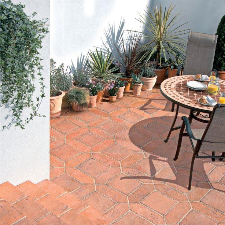 Mediterranean Tilling Mixed Pack, 2.78m², Mellow Terracotta, Random Pattern, 5015111813192