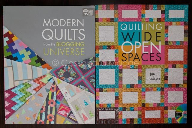 Modern quilts from the Blogging Universe, & Quilting Wide Open Spaces by Judi Madsen.
