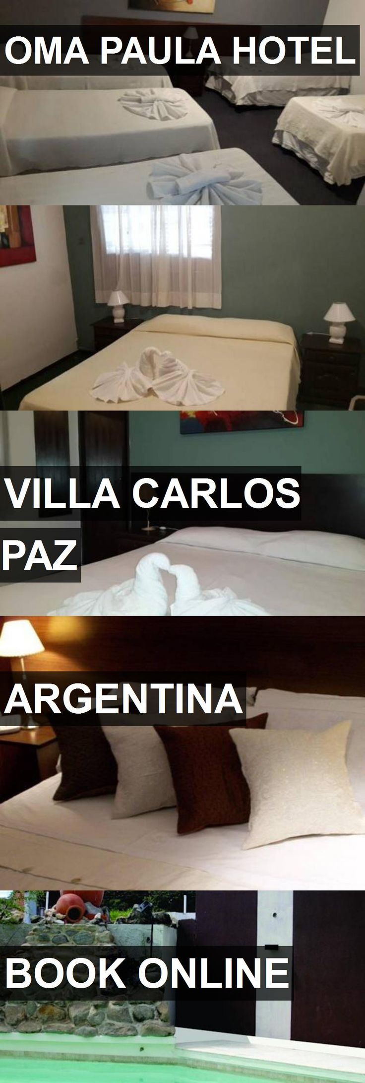 OMA PAULA HOTEL in Villa Carlos Paz, Argentina. For more information, photos, reviews and best prices please follow the link. #Argentina #VillaCarlosPaz #travel #vacation #hotel