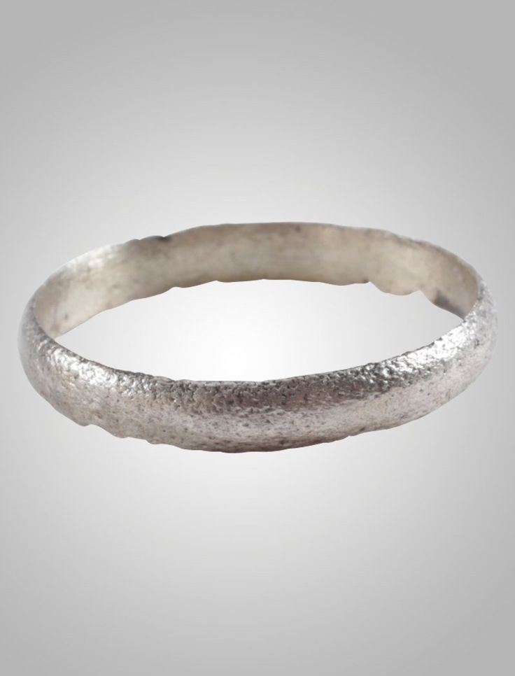 Authentic Ancient Viking wedding Ring Band C.866-1067A.D. Size 8 3/4 (18.3mm)