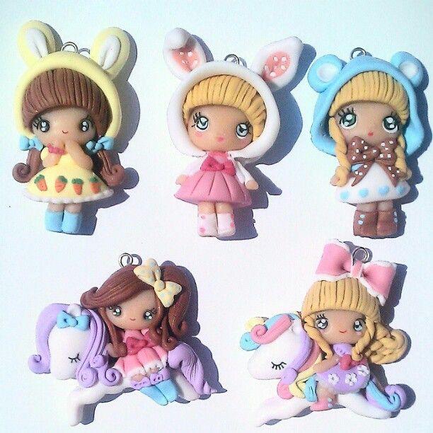 #sweetlolita #handmade #cute #kawaii #polymerclay #fimo #cernit #danielapupa - @danielapupa- #webstagram