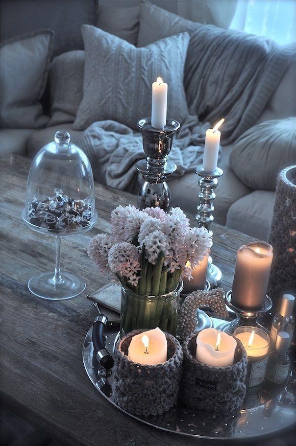 40 Pfiffige Ideen, um den Tisch im Wohnzimmer zu dekorieren