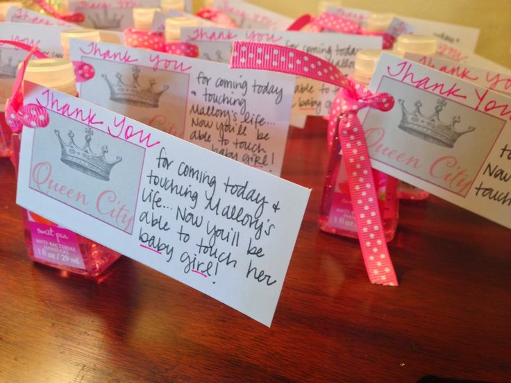 queen city baby shower practical baby shower favors pink hand