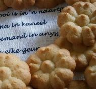 Traditional South African recipe for Anise Seed Biscuits or anyskoekies