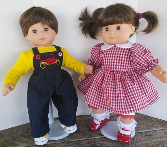 American Girl 15 Quot Bitty Twins Doll Clothing Boy And Girl