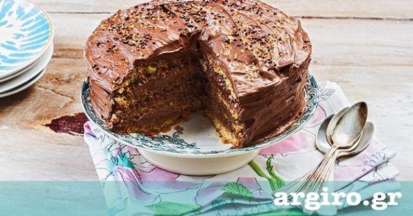 Εύκολη τούρτα μερέντα από την Αργυρώ Μπαρμπαρίγου | Χρειάζονται μόλις 5 λεπτά για να βρεθείτε στον παράδεισο και να γευτείτε τη αυτή τη θεϊκή τούρτα!