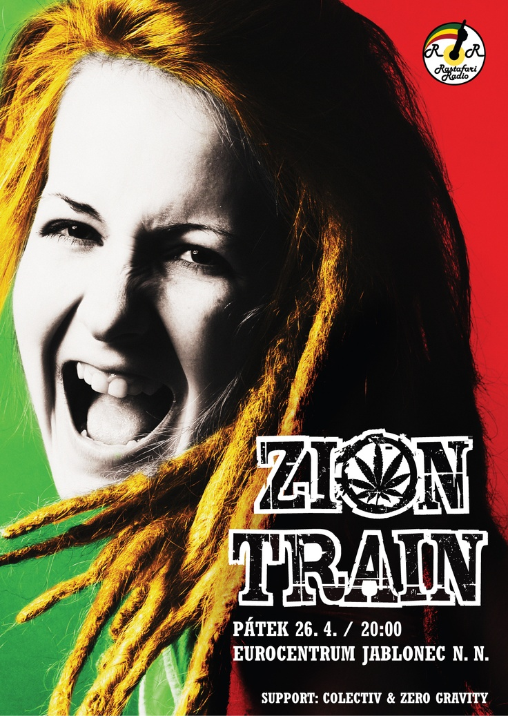 April 26th / Zion Train (GB): The only spring show of the band in Czech Republic, EU, support: Colectiv & Zero Gravity,  live at http://www.eurocentrumjablonec.cz/