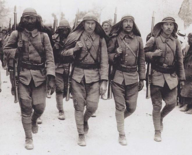 Ottoman troops, 1915