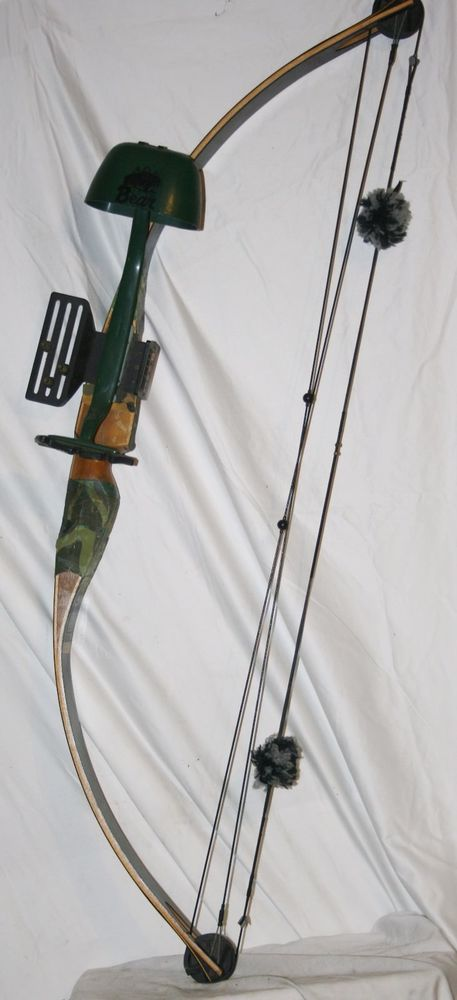 "VINTAGE BROWNING COBRA LEFT HAND WOOD COMPOUND BOW SIGHTS & QUIVER 60# 29-30"" DL #Browning"