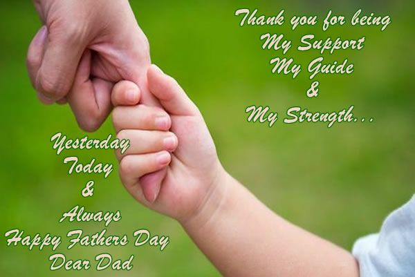 father's day ecard from baby