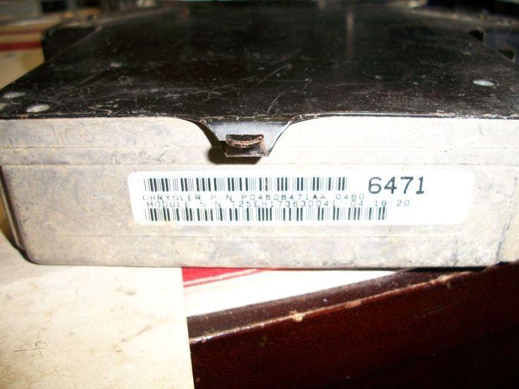1996 96 CHRYSLER CONCORDE INTREPID 3.5 Engine Computer